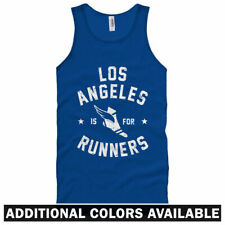 Los Angeles is for Runners Unisex Tank Top - Men Women XS-2X - Running Jogging
