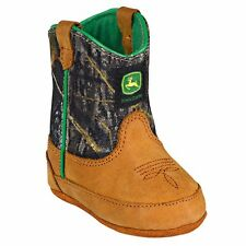 Brand New John Deere JD0188 Baby's Green Crib Wellington Boots