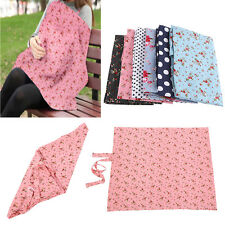 Cotton Breastfeeding Cover Nursing Feeding Covers Printed For Baby Infant OB