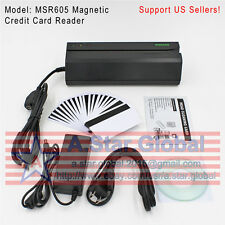 MSR605 Magnetic Credit Card Reader Writer Encoder Stripe Swipe Magstripe MSR206