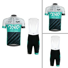 New Mens Cycling Jersey Bib Shorts Kits Shirt Tights Sets Size S M L XL 2XL 3XL