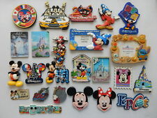 Selected Souvenir Fridge Magnet Disneyland Disney World Epcot Disneyland Paris