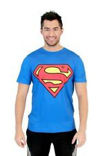Adult DC Comics Superhero Superman Red Logo Performance Athletic T-Shirt Tee