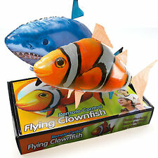 Hot Remote Control RC Inflatable Balloon Air Swimmer Flying Nemo Shark Blimp Toy