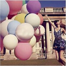 """36"""" Romantic Gaint Latex Balloons Pure Color Wedding Birthday Party Decoration"""