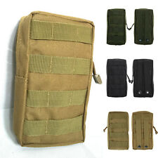 Unisex Molle Medical Military First Aid Nylon Sling Pouch Case Storage Bag New
