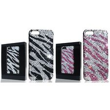 For Apple iPhone 5/5S/SE Deluxe Diamond Rhinestone Bling Shiny Case Cover
