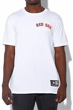 New MAJESTIC ATHLETIC Mens Boston Red Sox Tee White