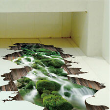 NEW CHEAP DIY 3D Funny Wall Stickers Bathroom Decal Vinyl Mural Home Decoration