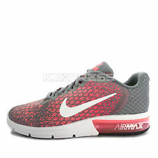 Nike WMNS  Air Max Sequent 2 [852465-003] Running Cool Grey/White-Pink