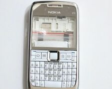 HOUSING COVER FACIA CASE + MIDDLE CHASSIS FOR NOKIA E71 WHITE