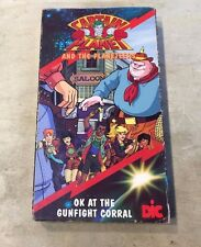 VHS Rare Captain Planet & and the Planeteers OK at the Gunfight Corral Video