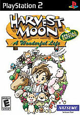 PS2 Harvest Moon: A Wonderful Life Special Edition  - New/Sealed