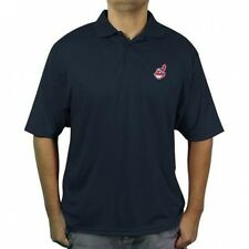 MLB Cleveland Indians Men's poly polo shirt. Brand New