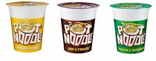 Pot Noodle Chicken & Mushroom 90g Pot Noodle Beef & Tomato Spicy Curry