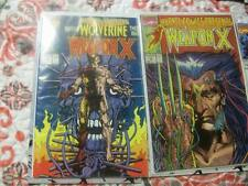Wolverine Lot w/MARVEL COMICS PRESENTS #72 1ST WEAPON X LOGAN MOVIE, More!