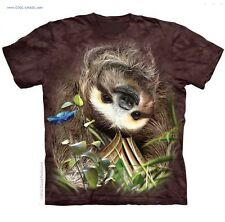 I Love Animals! Sweet Sloth T-Shirt /Tie Dye tee/Sloth Hanging out/ Kids T-Shirt