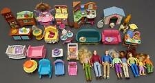 Fisher Price Loving Family Lot 56Pc Dollhouse Furniture Dolls Accessosries Toy