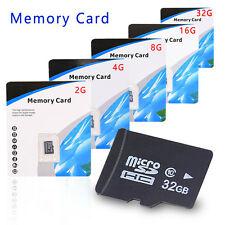 2GB 4GB 8GB 16GB 32GB Micro SD SDHC TF Flash Memory Card Class10 C10 SD Adapter