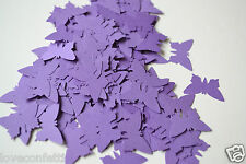 PLAIN BUTTERFLIES or HEARTS any COLOUR use as TABLE CONFETTI or card topper
