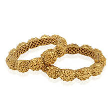 indian fashion jewelry bangle bracelet bollywood ethnic gold plated traditional