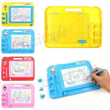 Children Magnetic Magical Drawing Writting Reading Play Game Board Toy Gift BJ