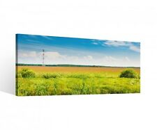 Canvas 1 Piece Grass Landscape Spring Water Canvas Picture Pictures 9R320