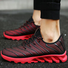 Fashion Mens mesh shoes Casual Sport Breathable Walking gym travel Sneakers new