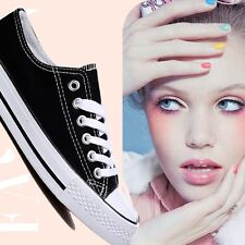 Women Lady ALL STARS Chuck Taylor Ox Low High Top shoes casual Canvas Sneakers #