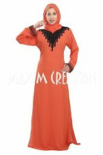 New Fancy Embroidery Arabian Party Wear Jalabiya Caftan Dress For Women 5338
