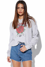 New ALL ABOUT EVE Womens Stones Hoody Grey