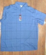 Haggar Easy Care Short Sleeve Button Down The Front Shirt Machine Washable SZ XL