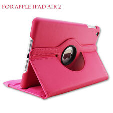 iPad Air 2 Leather Case 360 Degrees Flip Leather Back Cover Case Apple Ipad Air2
