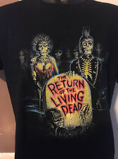 Return Of The Living Dead V1 T-Shirt 80'S CULT HORROR MOVIE FUNNY ZOMBIES COMEDY