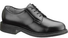 New US MADE Bates Women's Black Leather Marching Oxford Uniform Leather Shoes