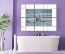 Tiles Sticker Bird Water Tile image Tiles Tile images Bathroom Kitchen 8A265