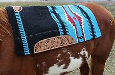 Wool Western Show Trail SADDLE PAD Rodeo blanket 38126. Best Price