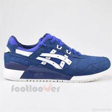 Scarpe Asics Gel Lyte III H7K4Y 4501 Man Trainers Sneakers Blue White Fashion Sy