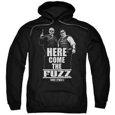Hot Fuzz Movie Poster HERE COME THE FUZZ Licensed Adult Sweatshirt Hoodie