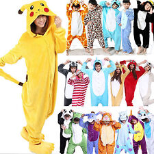 Animal Onesies Kids Adult Kigurumi Cosplay Costume Pyjamas Pajamas Sleepwear