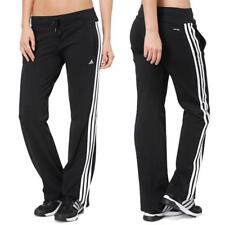 Adidas ESS 3S KNIT Womens jogging Tracksuit Bottoms Black Essentials Sweat Pants