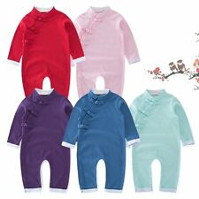 Baby Toddler Boy Girl Everyday Costume OnePiece Romper Suit Outfit Clothes 3M-3T