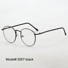3007 full rim round  metal RX optical frames myopia eyewear eyeglasses spectacle