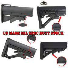 US Made Hunting Tactical 4-6 Position Adjustable A-Frame Mil Spec Stock Compact