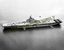 USS Valley Forge CV-45 Photo Military Black n White Happy Valley CVA CVS Carrier