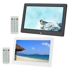 """10.1"""" LCD HD Digital Photo Picture Frame Alarm Clock MP3/4 Film Player Gifts FB"""