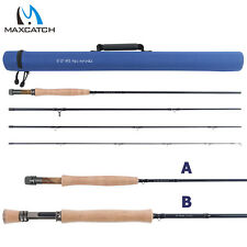 Fly Fishing Rods Nano IM12 Graphite 3 4 5 6 7 8WT 4Pieces & Fly Rod Tube