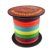 New SuperPower Braided Multicolor Fishing Line (330 yds- 1100yds) SELECT LB TEST