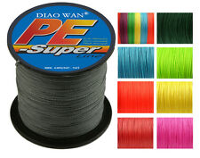 500M 4 Weave Super Strong Dyneema Spectra Extreme PE Braided Sea Fishing Line US