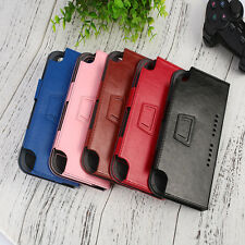 For Nintendo Switch Gamepad Game Console Leather PU Cover Case Anti-Scratch